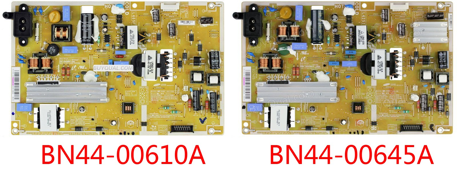 Samsung BN44-00610A BN44-00645A L46SF_DSM PSLF111S05A BN4400610A Power Supply / LED Board - New condition