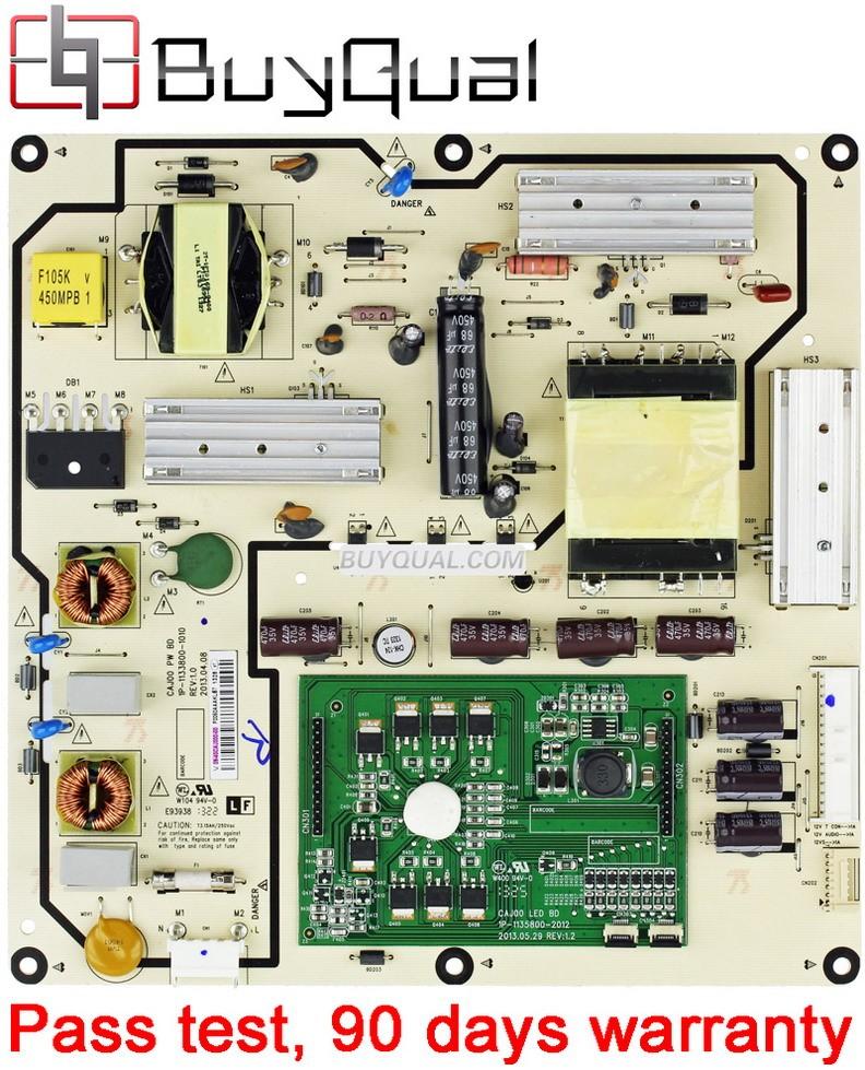 Vizio 09-40CAJ000-00,1P-1133800-1010 Power Supply / LED Board