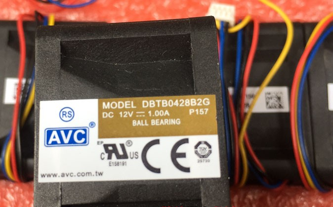 AVC DBTB0428B2G 12V 1.00A 3 Wires Cooling Fan