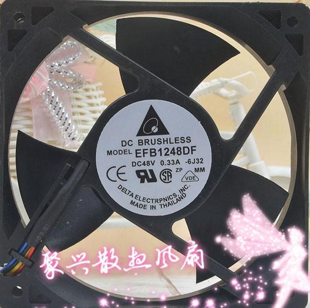 DELTA EFB1248DF 48V 0.33A 4 Wires Cooling Fan
