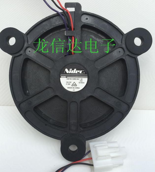 Nidec GW10C12MS1AZ-52 12V 0.14A 3 Wires Cooling Fan