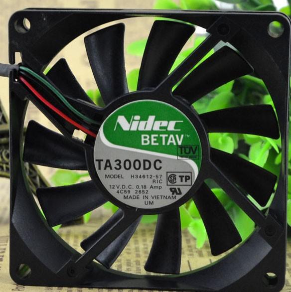 Nidec H34612-57 12V 0.18A 3 Wires Cooling Fan