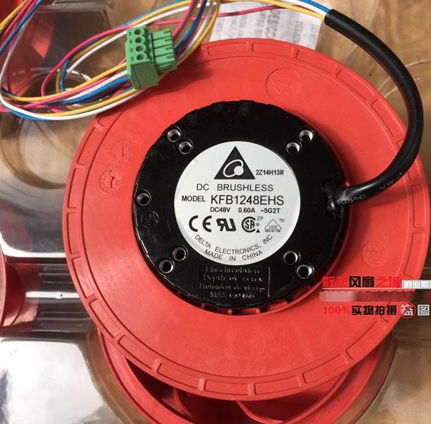 DELTA KFB1248EHS 48V 0.60A Wires Cooling Fan