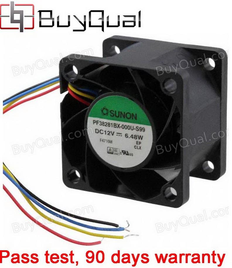 Sunon PF38281BX-000U-S99 12V 0.52A 6.24W 4wires Cooling Fan