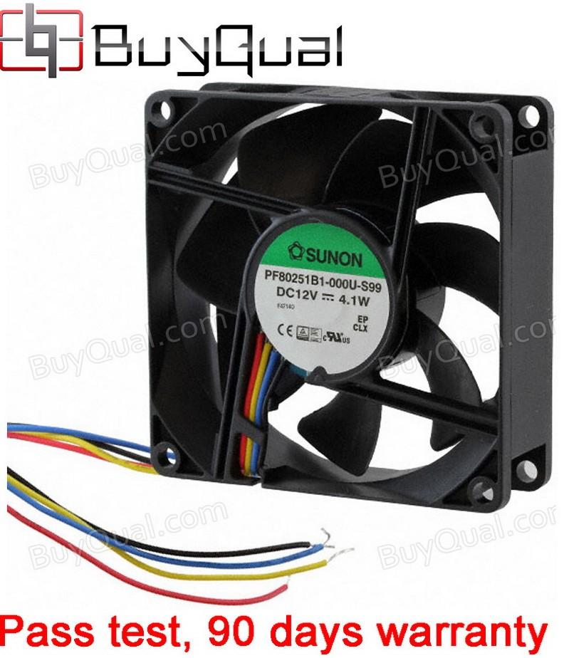 Sunon PF80251B1-000U-S99 12V 0.341A 4.1W 4wires Cooling Fan