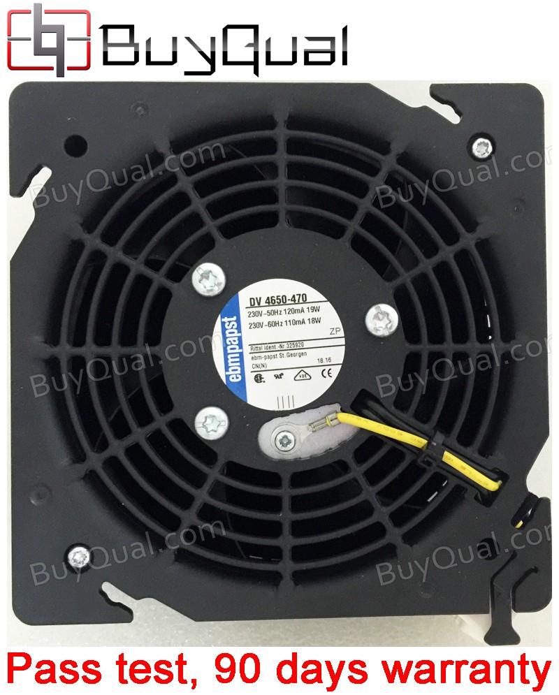 Ebmpapst DV4650-470 DV 4650-470 230V 110/120mA 18/19W cooling fan