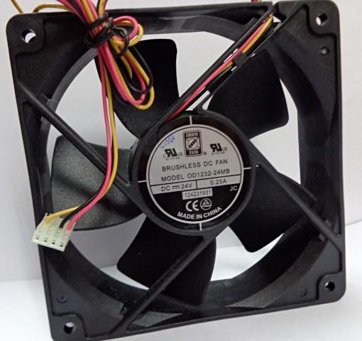 ORION FANS OD1232-24MB 24V 0.25A 3Wires Cooling Fan