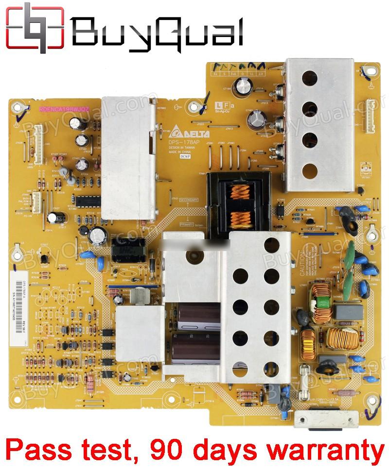 Sharp 2950170902, DPS-178AP A RDENCA198WJQZ Power Supply Unit on