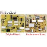 Sharp RUNTKB057WJQZ DPS-168JP Power Supply / LED Board