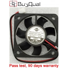 SINWAN SD5012PT-24H (HH) HH 24V 0.06A 1.5W 2wires Cooling Fan - NEW
