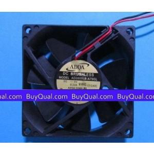 ADDA AD0805LB-A70GL 5V 0.23A DC Cooling Fan
