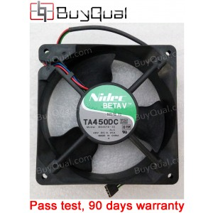 Nidec TA450DC B34578-35 48V 0.25A 4wires Cooling Fan -- New