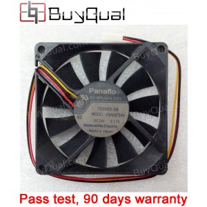 Panaflo FBA08T24H 24V 0.19A 0.17A  3wires Cooling Fan