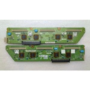 Samsung LJ41-04219A LJ41-04218A (LJ92-01401A LJ92-01400A LJ92-01401B LJ92-01400B BN96-05922A BN96-05923A )Buffer Board Pair