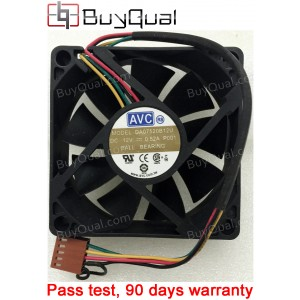 AVC DA07520B12U 12V 0.52A 4wires Ball Cooling Fan