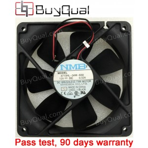 NMB 4710NL-04W-B30 12V 0.32A 2wires Cooling Fan -used