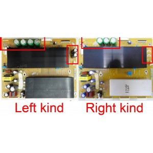 Samsung LJ41-08458A (LJ92-01683A LJ92-01683B LJ92-01683C LJ92-01728A LJ92-01728B LJ92-01728C LJ92-01728D) BN96-12952A BN96-15415A BN96-12411A BN96-17225A Sustain Board
